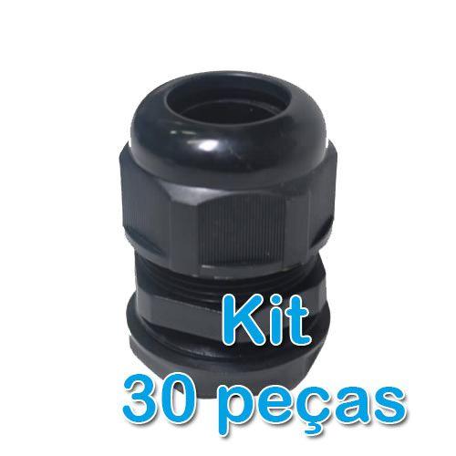 Kit 30 Peças - Prensa Cabo  - ComputechLoja