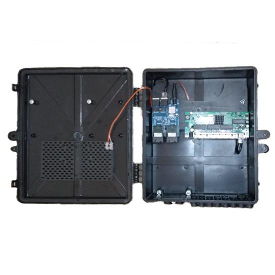 Kit 8 peças Xwave Metro Switch 8 portas Destacável  - ComputechLoja