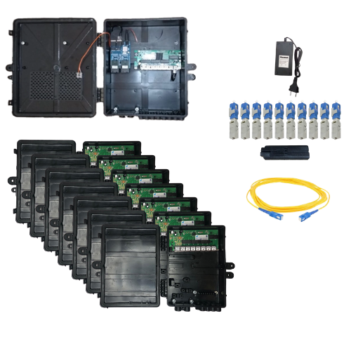 Kit Ilha Xwave Metro Destacável FAST 2.0 - 50 Clientes - Planos de até 50 Mbps  - ComputechLoja
