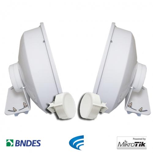 Kit Ponto a Ponto SXT com Radome Shield  - ComputechLoja