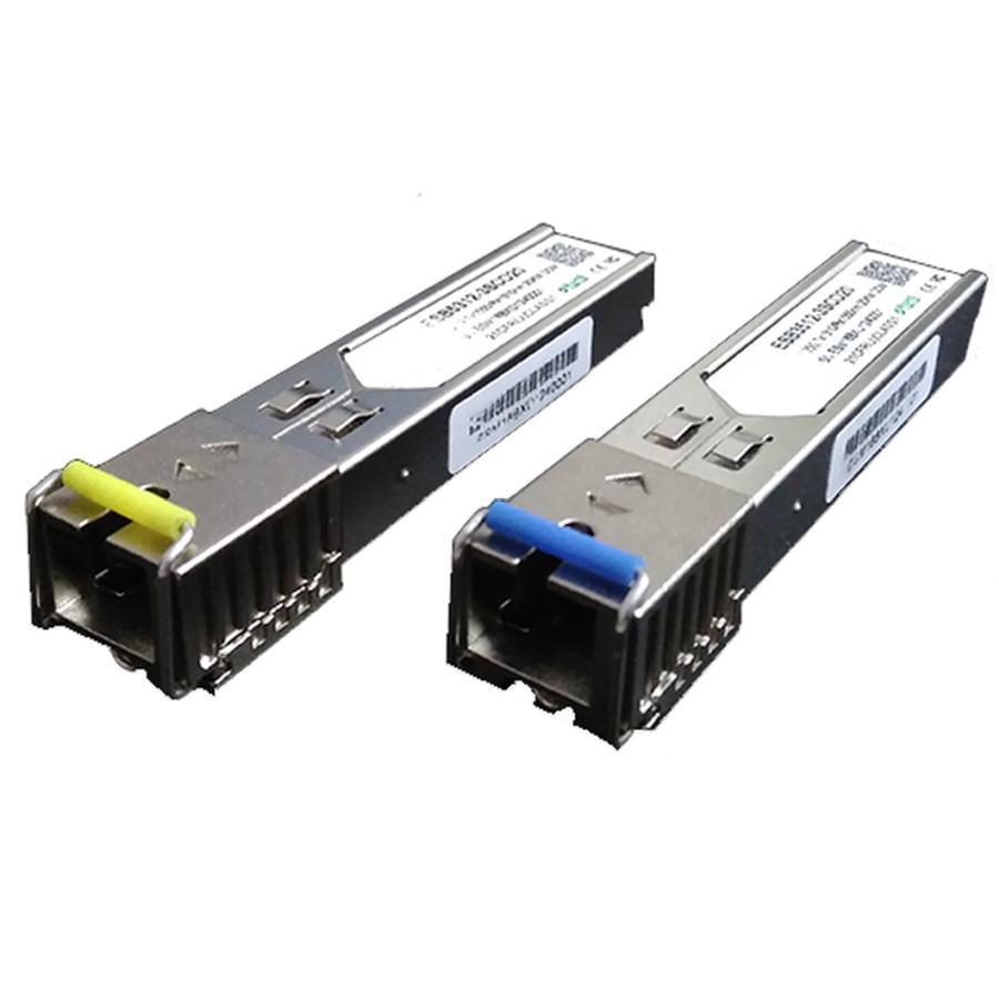 Par de Módulos SFP - Mini-GBIC - SC-PC (para conector azul) até 20 km  - ComputechLoja
