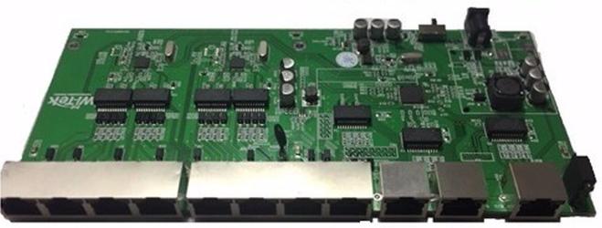PCBA PAC Switch 8 Portas Fast + 3 Portas Gigabit (WI-PS111GR)  - ComputechLoja