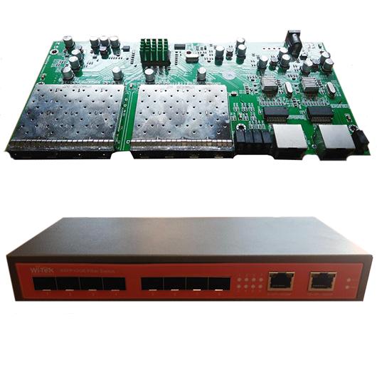 PCBA Switch 8 Portas SFP para FTTH Metro (WI-SG310F)  - ComputechLoja