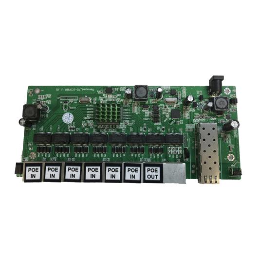PCBA Switch PoE Reverso Gerenciável 8GE + 1SFP (WI-PMS308GFR)  - ComputechLoja
