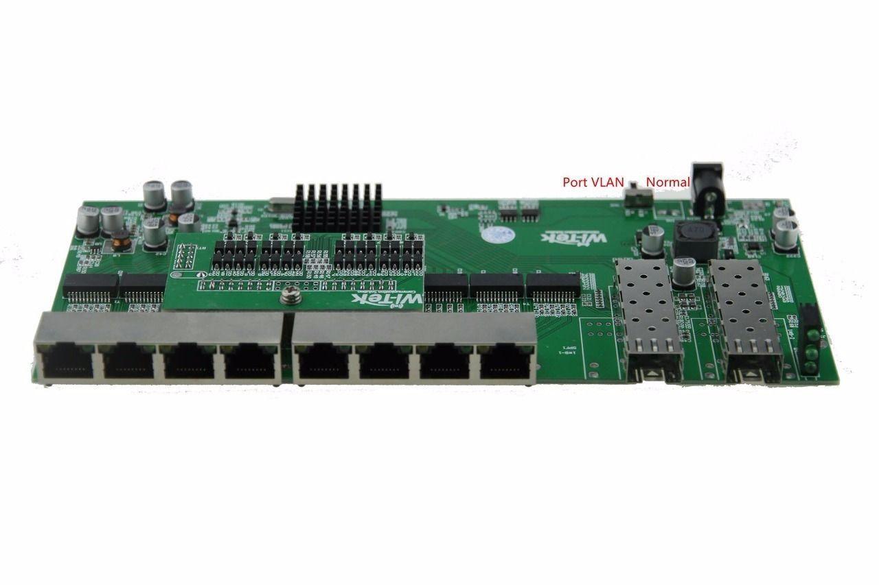 PCBA Xwave Metro Switch 8 Portas (WI-PS310GFR)  - ComputechLoja
