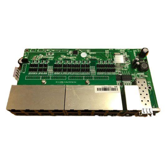 PCBA Xwave MultiPAC Switch Metro - 16FE + 2GE + 1SFP (WI-PS118GR)  - ComputechLoja
