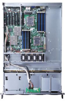 Servidor de rede 1U Biprocessado E5 2650 V1 32 RAM HD Sata 1Tb 01 porta LAN e 01porta SFP+ 10Giga - Semi Novo  - COMPUTECH TECNOLOGIA