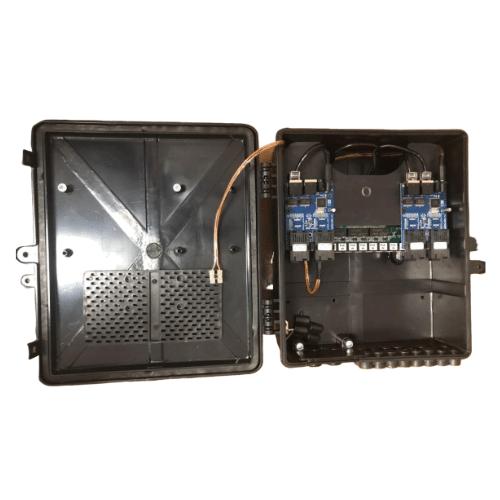 Caixa Xwave Metro Destacável 4 Fibras para Esquinas  - Computech Tecnologia Eireli