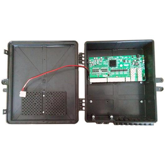 Xwave Metro Switch 8 portas Gerenciável (WI-PMS310GFR)  - ComputechLoja