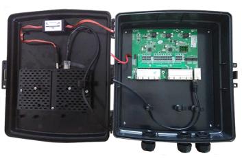 Xwave MultiPAC Switch Gigabit + Conversor DC-DC  - ComputechLoja