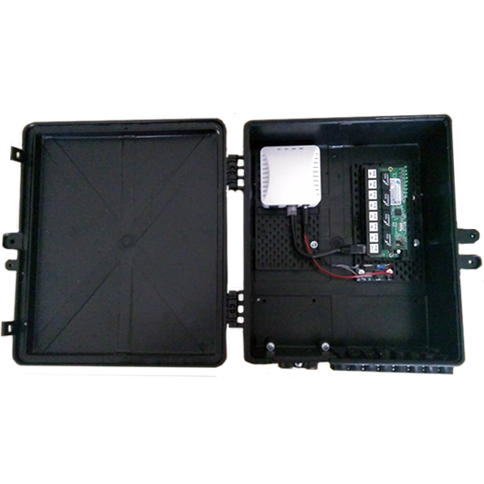 Xwave PAC EPON 8 portas Fast Ethernet com Conversor DC/DC  - ComputechLoja