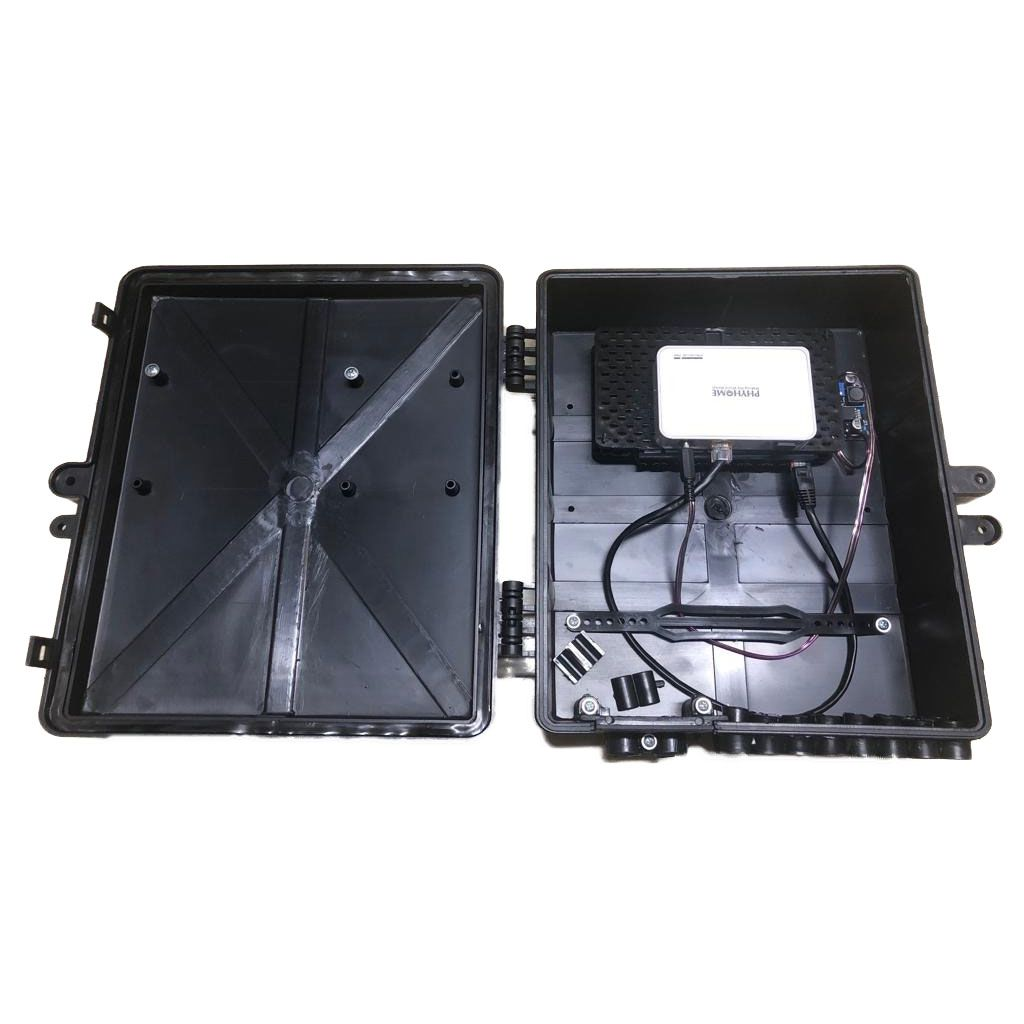 Xwave PAC EPON 8 portas Fast Ethernet com Conversor DC/DC + ONU  - ComputechLoja