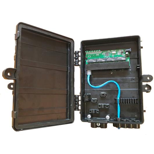 Xwave PAC Switch 8 Portas Fast Ethernet  - ComputechLoja
