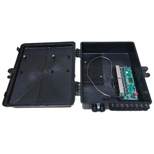 Xwave PAC Switch 8 Portas Gigabit (WI-PMS308GR)  - ComputechLoja