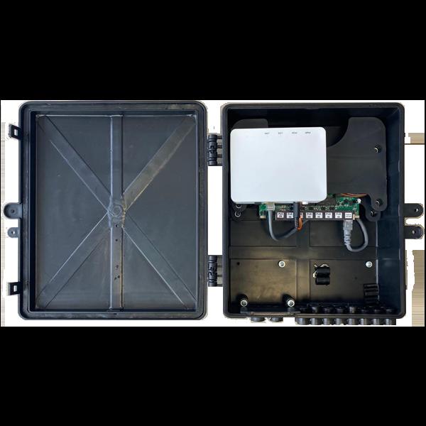 Xwave PAC XPON Hibrido 8P Gigabit Ethernet  - COMPUTECH TECNOLOGIA