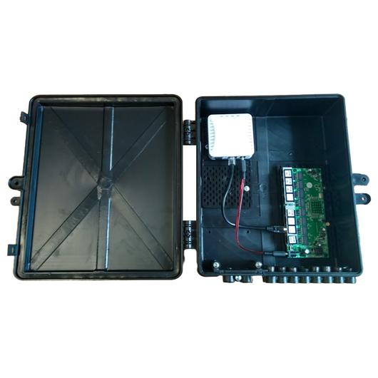 Xwave PAC EPON 8 portas GIGABIT Ethernet Gerenciável + ONU (WI-PMS308GR)  - ComputechLoja
