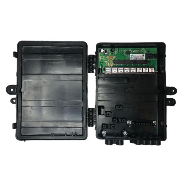 Xwave PobreNet 2.0 PAC Switch 8 Portas Fast Ethernet Chave VLAN-BRIDGE com Caixa  - ComputechLoja