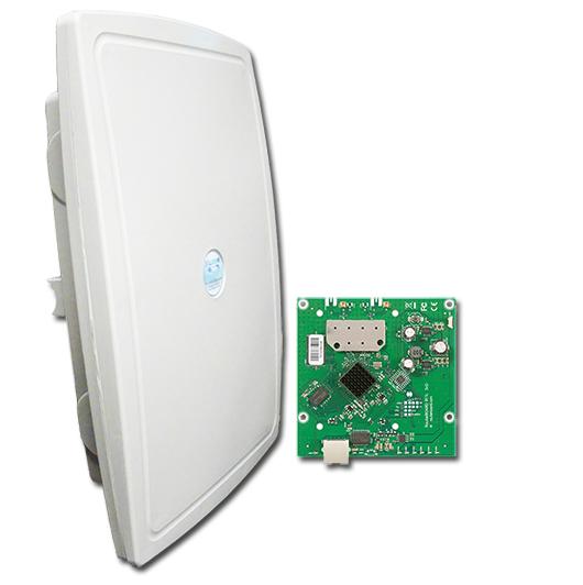 Xwave SuperPOP MIMO 5 GHz - RB912UAG-5HPnD Porta Gigabit  - ComputechLoja