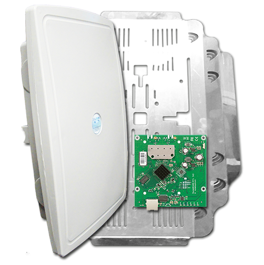 Xwave SuperPOP MIMO 5 GHz - RB912UAG-5HPnD Porta Gigabit com MultiShield  - ComputechLoja