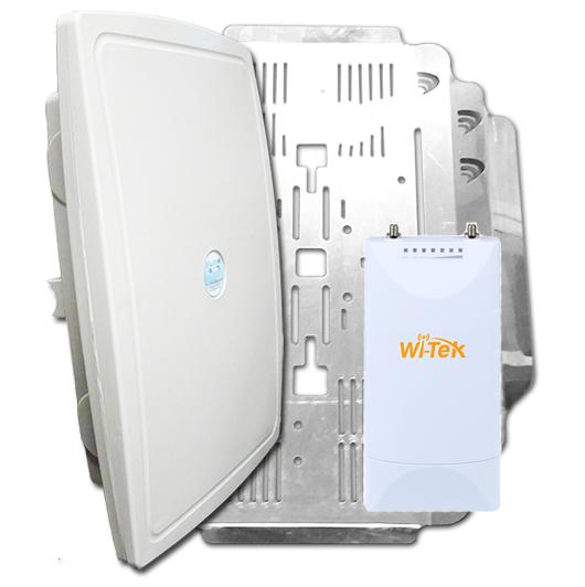 Xwave SuperPOP MIMO Wi-Tek CPE514SMA com MultiShield  - ComputechLoja