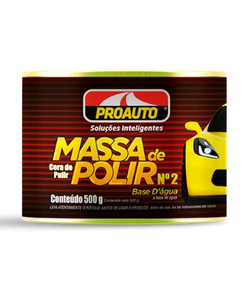 SUPER KIT MASSA DE POLIR COM ESTOPAR ESPECIAL DA PROAUTO