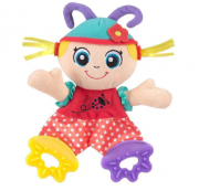 Chocalho de Pelúcia Doll