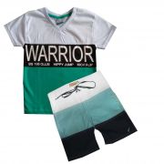 Conjunto Silk Warrior - Tamanho 2