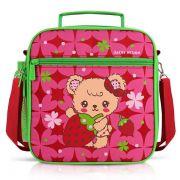 Lancheira Térmica Infantil - Urso Pink