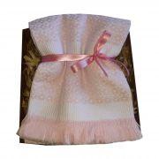 Manta Baby Térmica Piquet Rosa