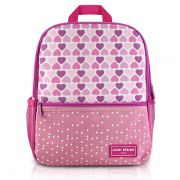 Mochila Escolar - Coração Rosa Jacki Design