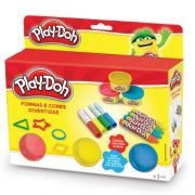 PLAY DOH SHAPE E COLOUR FUN