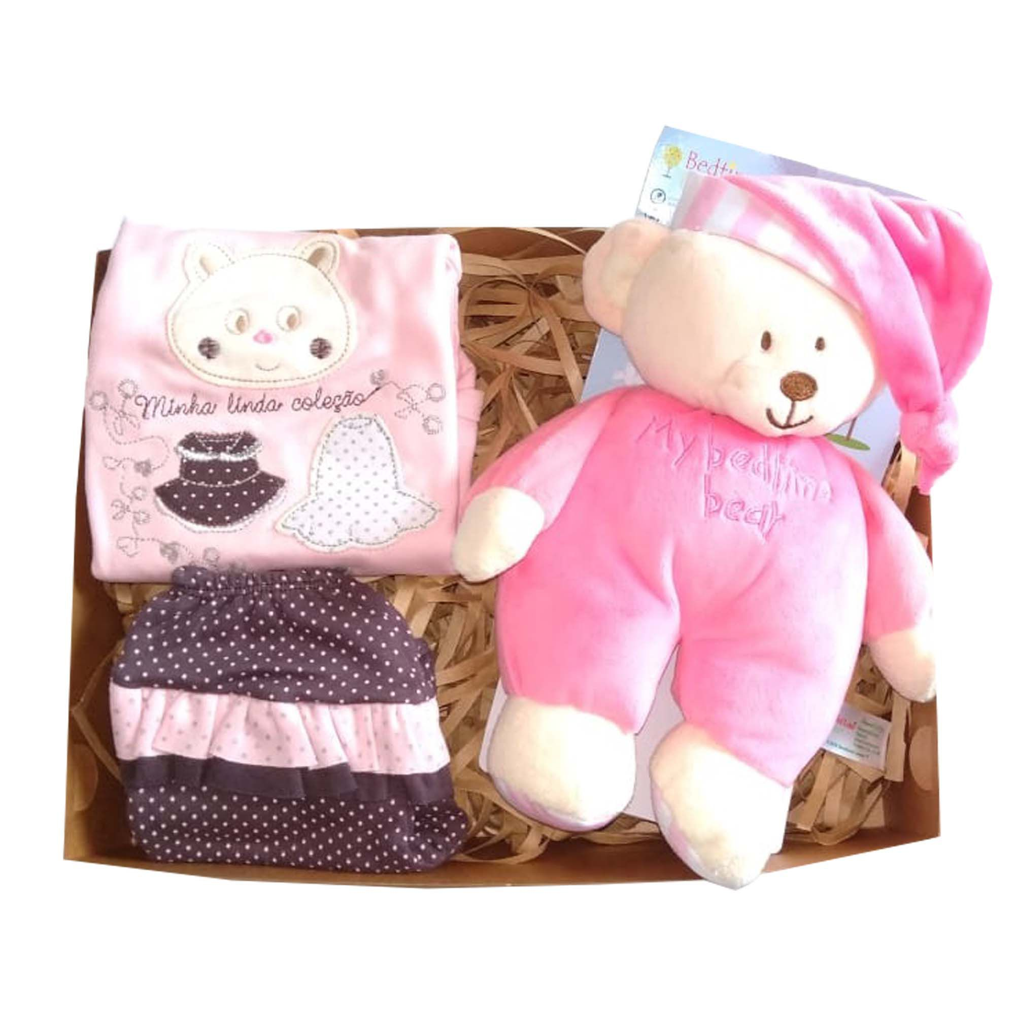 Baby Rose Bear