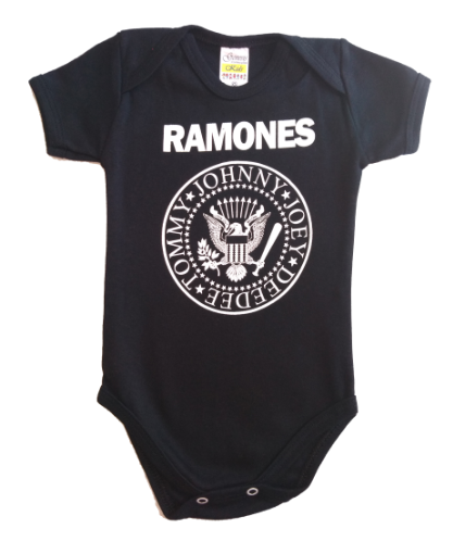 Body  manga curta Ramones