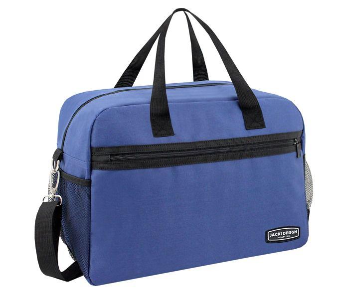 Bolsa de Viagem/Academia Lisa Azul