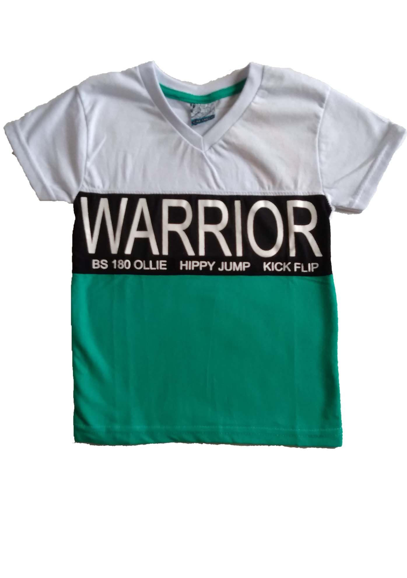 CAMISETA COM SILK WARRIOR