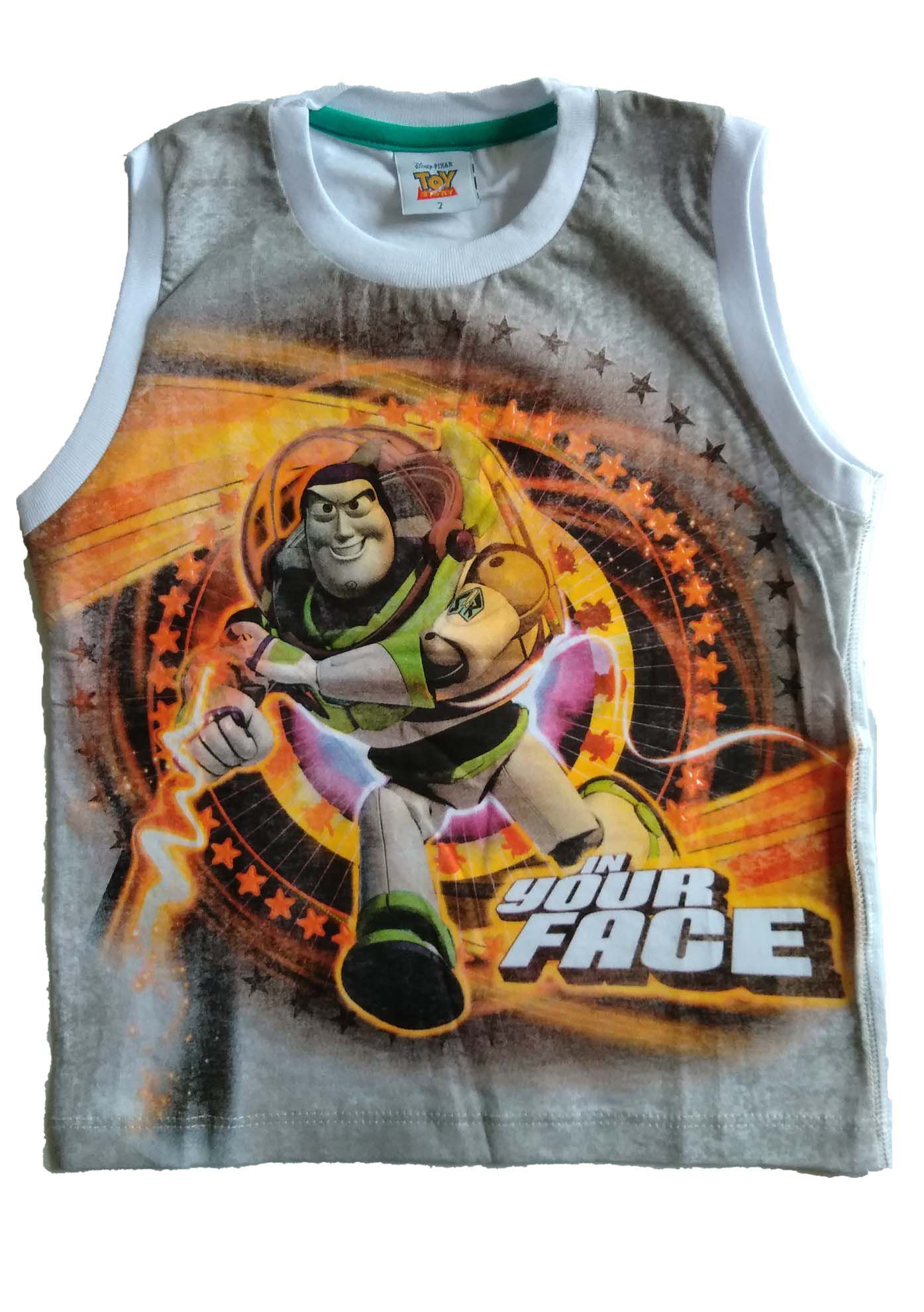 CAMISETA REGATA TOY STORY IN YOUR FACE