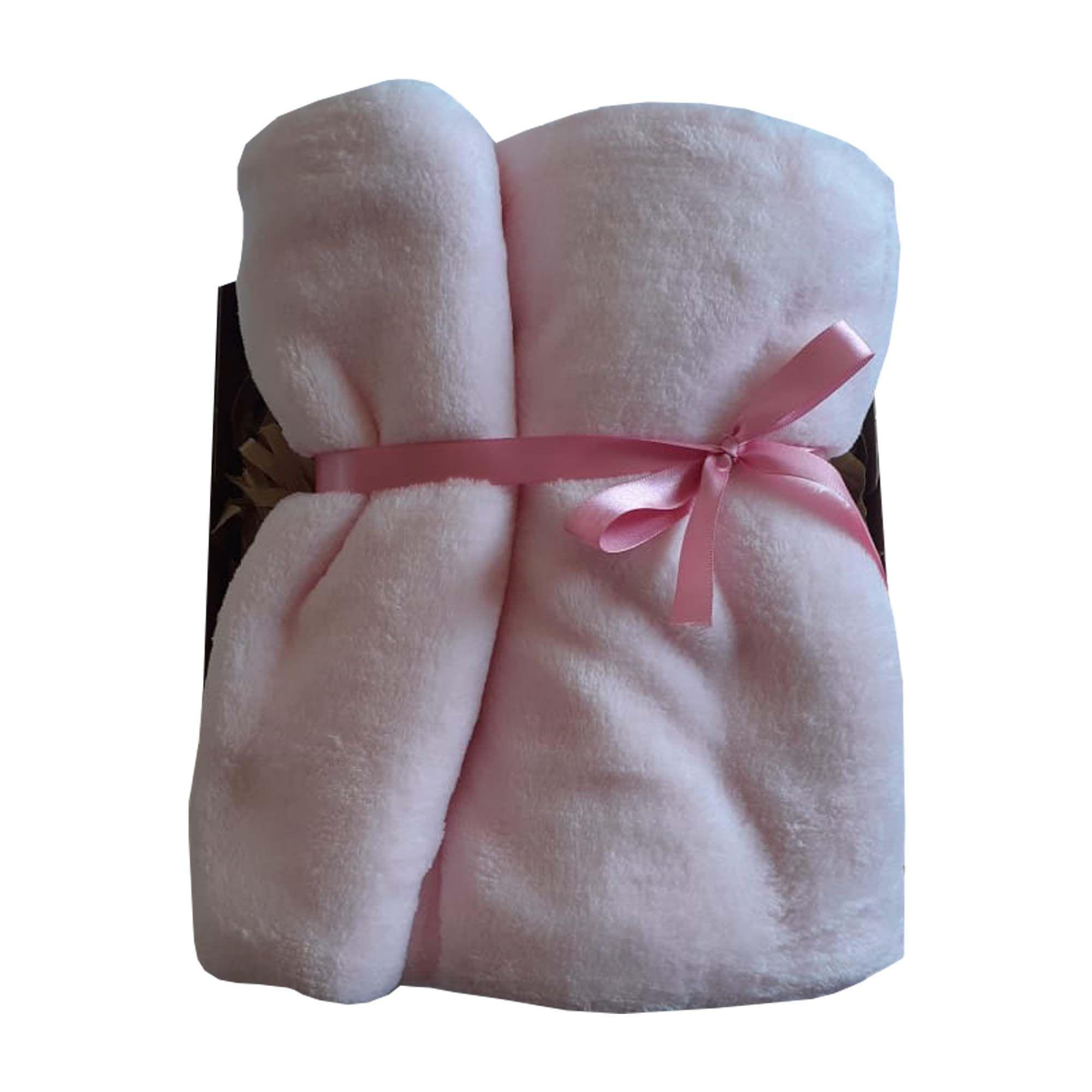 Cobertor Microfibra Rosa