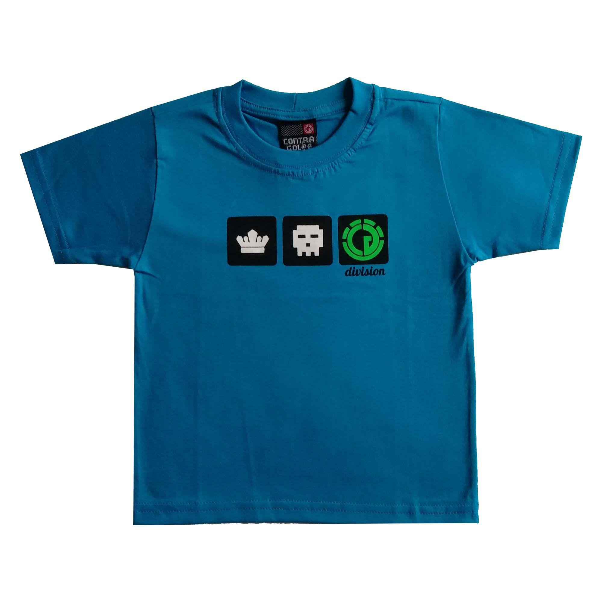 Combo Camisetas Division + Bermuda -Tamanho 2