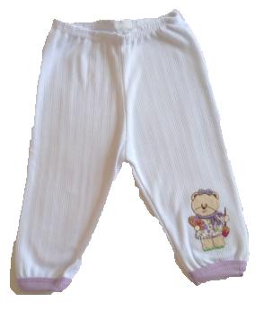 Pijama Ursinha Lilás TAMANHO P