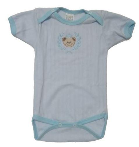 Conj Pijama Body + tapa fralda Azul TAMANHO G
