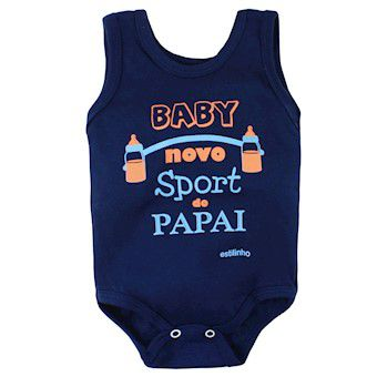 Conjunto de Body Regata com Shorts  Sport