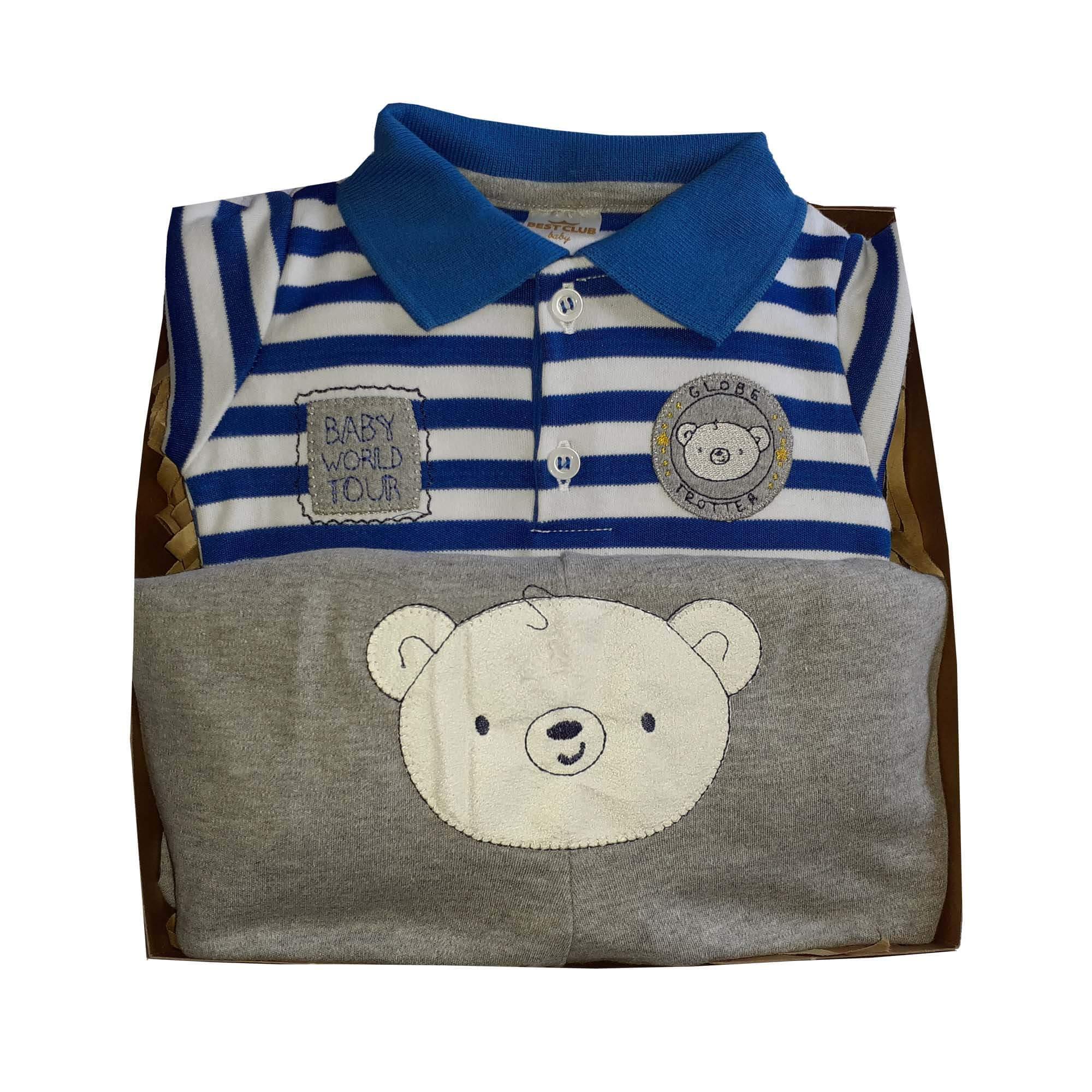 Conjunto Menino Polo Baby Urso
