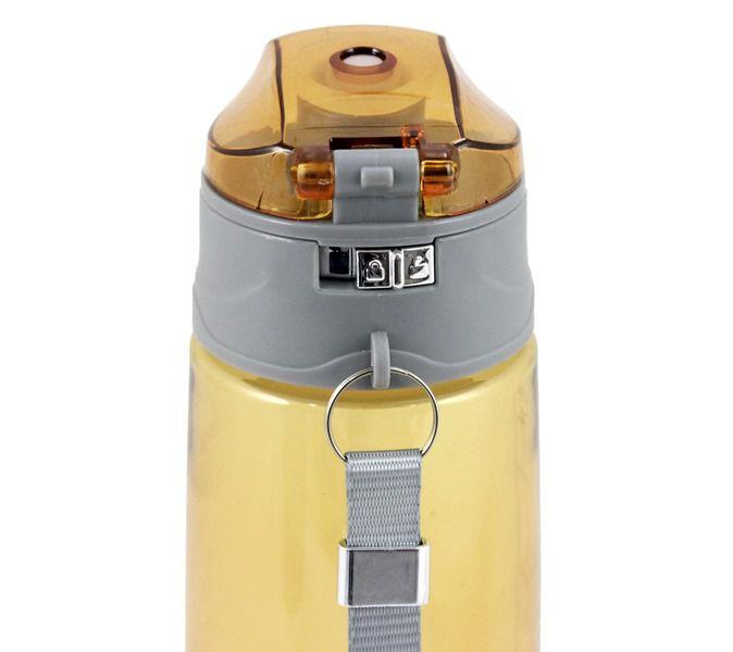 Garrafa Squeeze 700ml c/ Alça e Trava Jacki Design