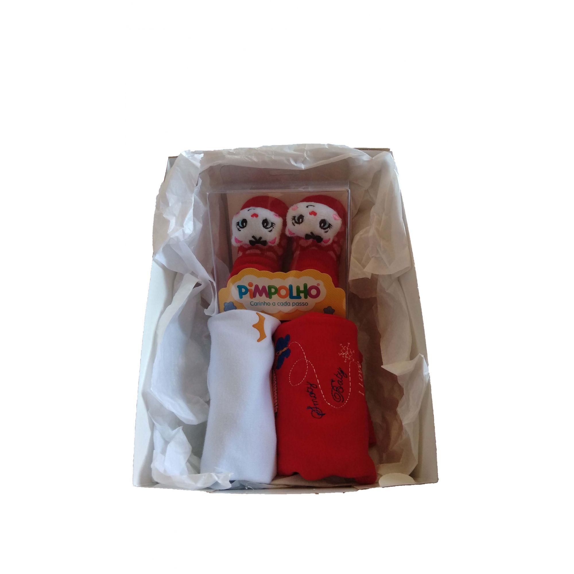 Kit Bebê Fofinho Menina - vermelho