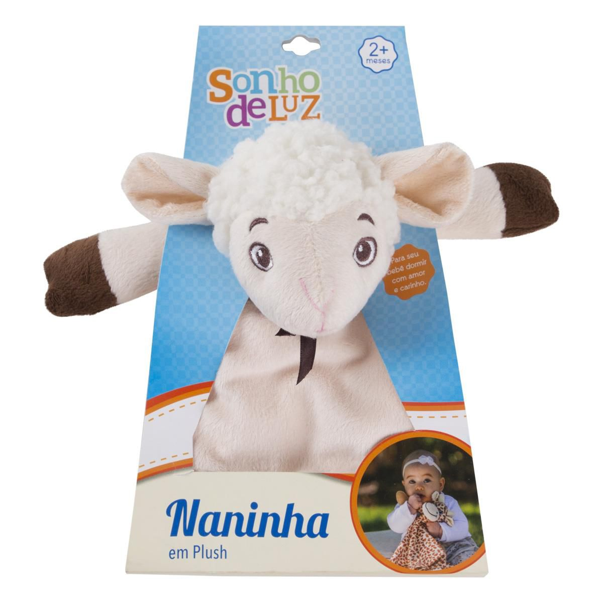 Naninha Plush Ovelha