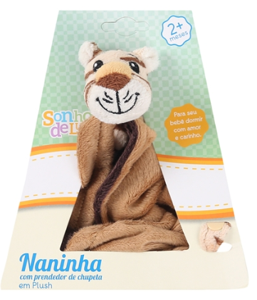 NANINHA  TIGRE - PRENDEDOR CHUPETA
