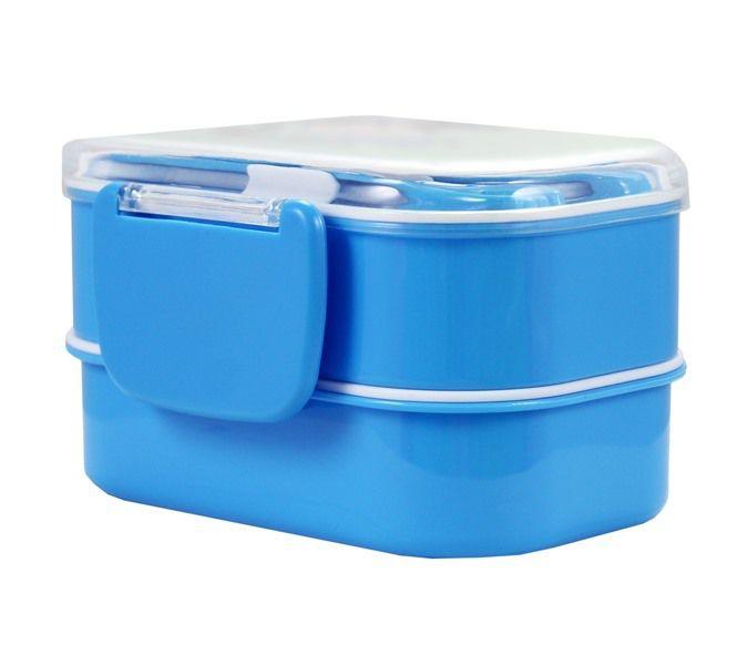 Pote P/ Lanche De 2 Andares Azul Jacki Design