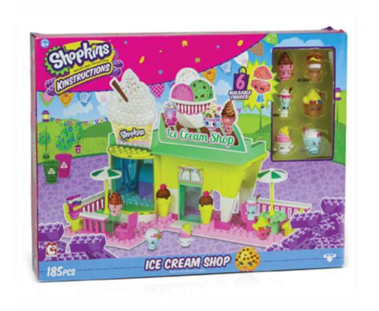 SHOPKINS KINSTRUCTIONS ICE CREAM SHOP