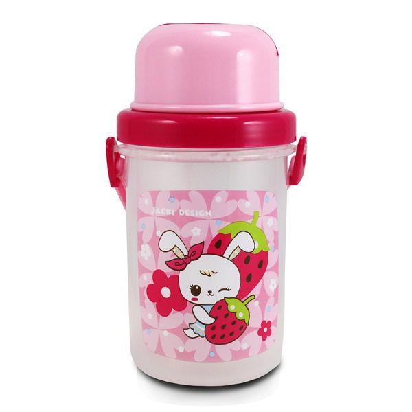 Squeeze 450ml Infantil - Coelho Rosa
