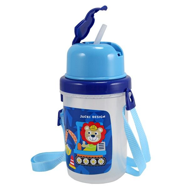 Squeeze 450ml Infantil - Macaco Azul